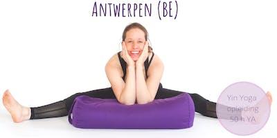 Yin Yoga Opleiding Antwerpen Belgie (50h YA)