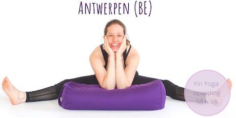 Yin Yoga Opleiding Antwerpen Belgie (50h YA)  tickets