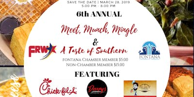 6th Annual Meet, Munch, Mingle and (A Taste of Southern)