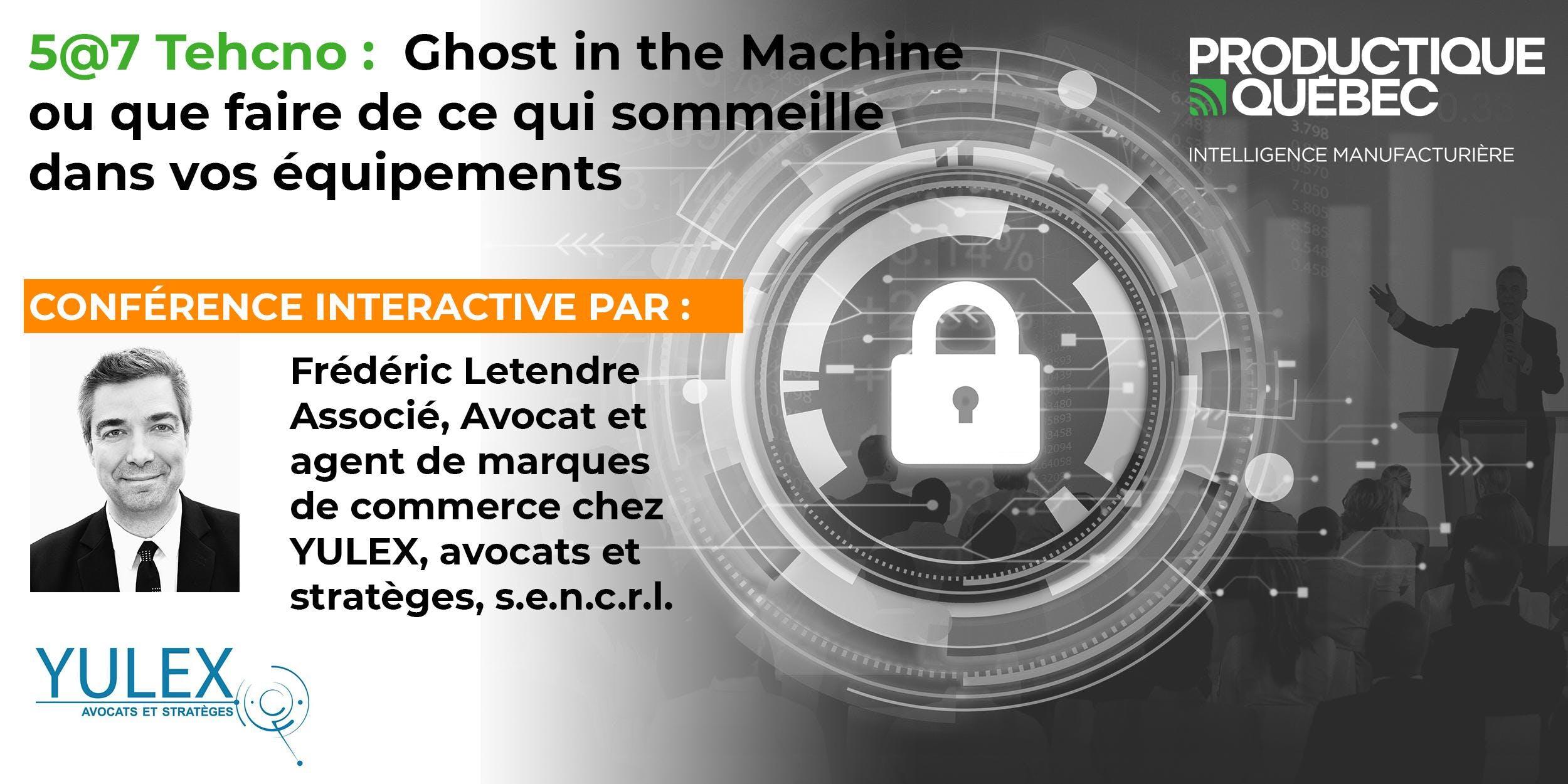 5@7 Techno : Ghost in the Machine ou que fair