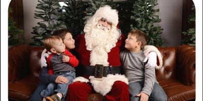 2019 Toys For Tots Santa Picture Event