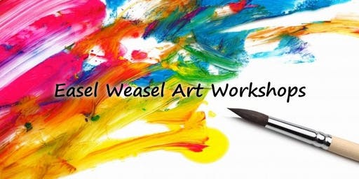 Easel Weasel Art Workshops in the Peak District