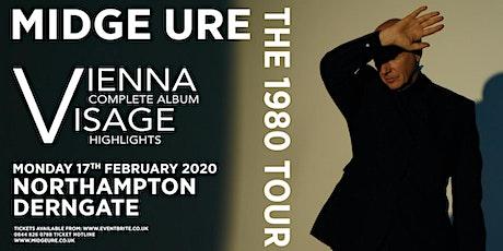Midge Ure - The 1980 Tour, Vienna & Visage (Royal & Derngate, Northampton) tickets