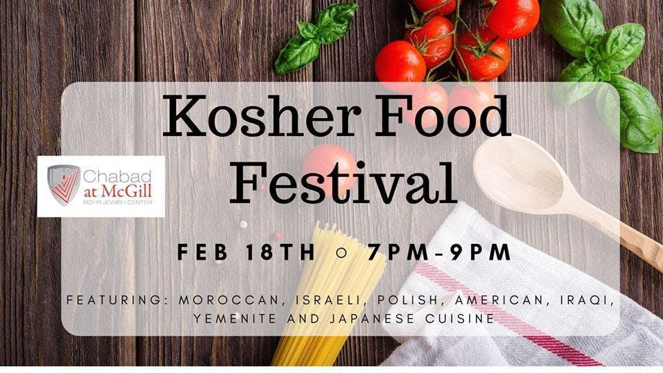 Kosher Food Festival