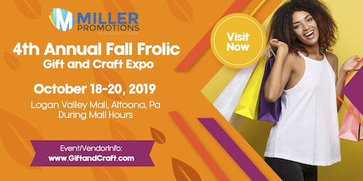 4th Annual Fall Frolic Gift and Craft Expo