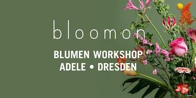 bloomon Workshop 21. März | Dresden, Adele