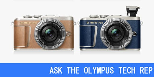 ASK THE OLYMPUS TECH REP
