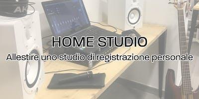 Home Studio - Allestire uno studio di registrazione personale
