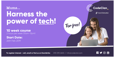 #TechMums - Learn about technology for free!