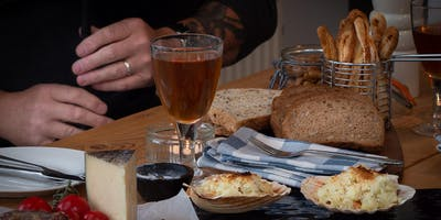Scottish Food Experience: sharing meal, craft beers & pipe tunes at home