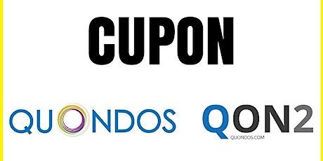 Cupón Quondos Descuento Gratis tickets