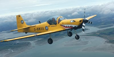 2019 Flights - Fly with a Fighter Pilot or Space Flight experience