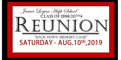 James Logan HS Class of 1998 20th+ year Reunion tickets