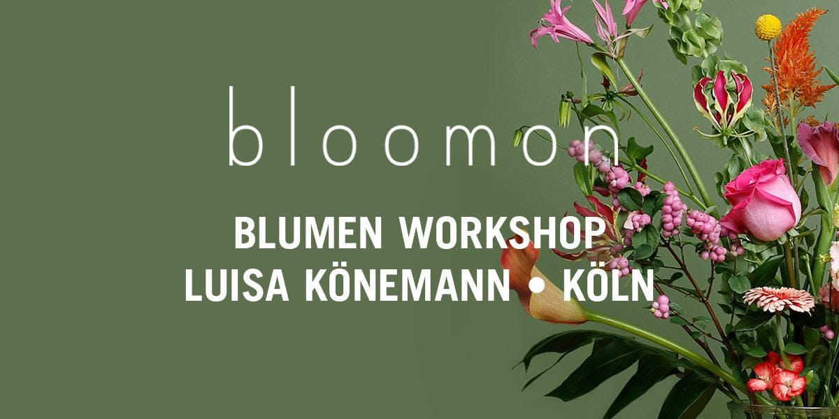 bloomon Workshop 23. März | Köln, Atelier Lui