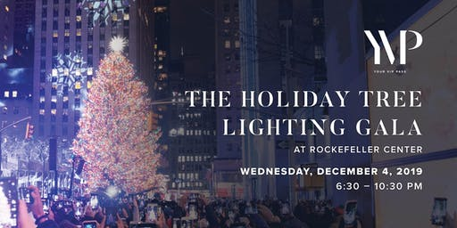 Rockefeller Center Holiday Christmas Tree Lighting 2019 Gala - New York