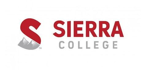 Sierra College Campus Tours Tickets Multiple Dates Eventbrite