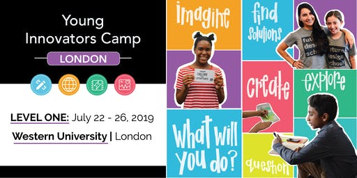 Young Innovators LEVEL 1 Camp - London