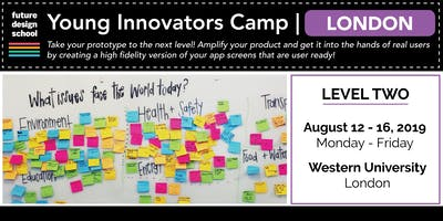 Young Innovators LEVEL 2 Camp - London