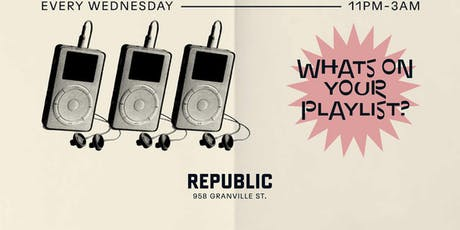 Playlist Wednesdays tickets