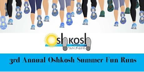 Oshkosh Summer Fun Run 2019 tickets