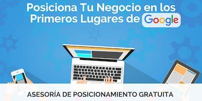 Asesoria: SEO Posiciona Tu Negocio en los Primeros Lugares de Google