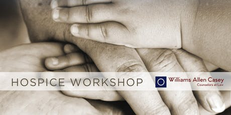 Hospice Workshop tickets