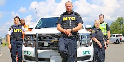 Séance d'information pour le recrutement d'agents d'exécution des règlements de la route