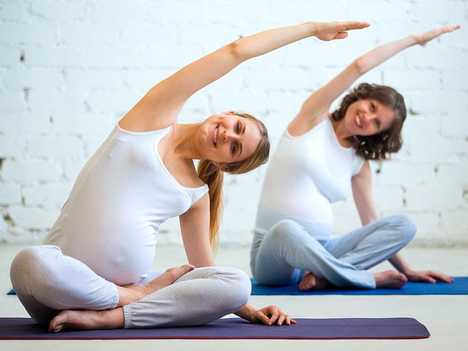 Rise and Shine Pregnancy Yoga (every Sunday)
