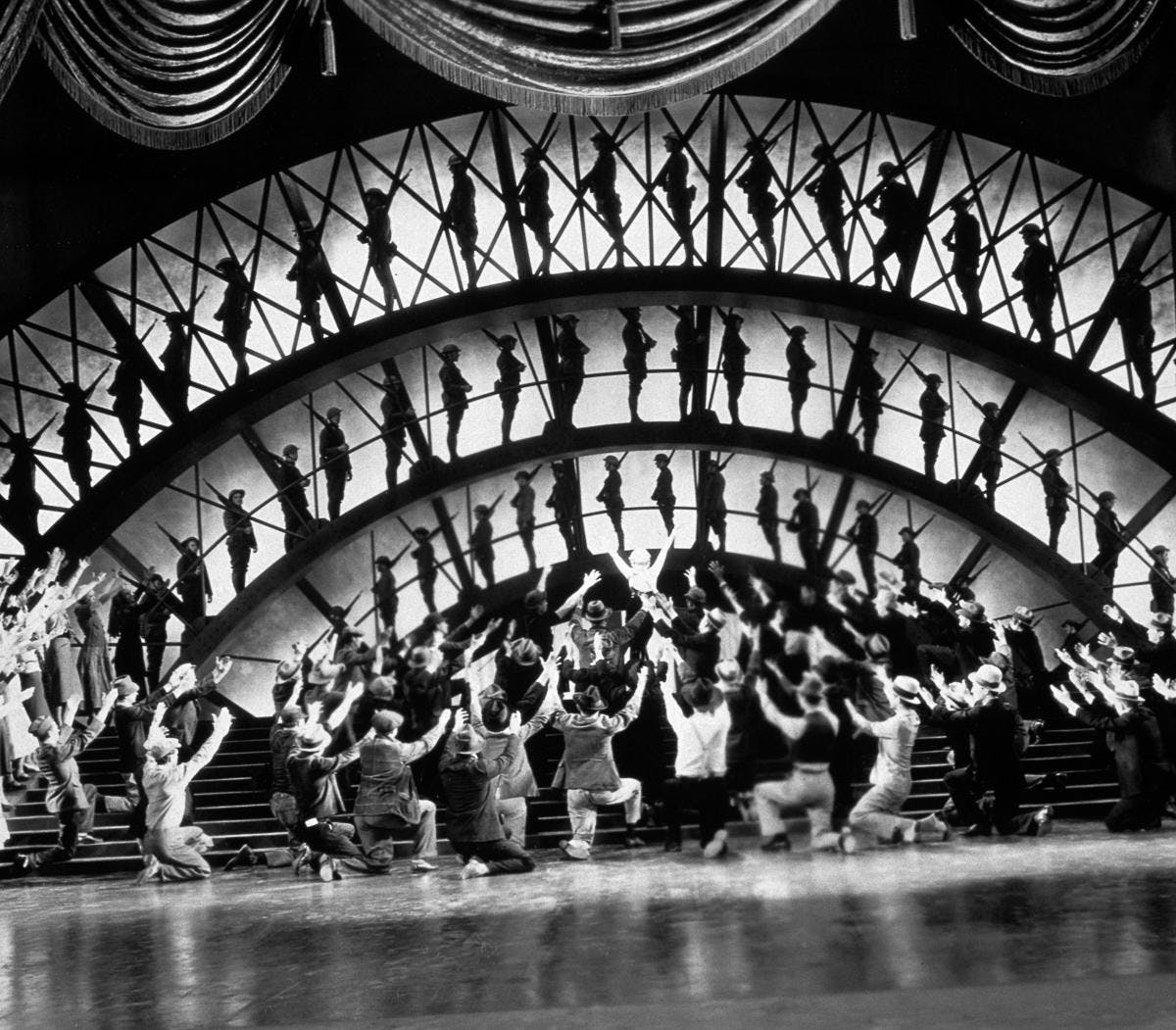 Designing the Movies: GOLD DIGGERS OF 1933 (1933) on 35mm!