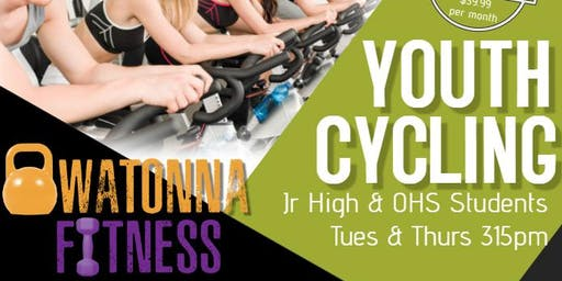 315pm Athlete Cycling (youth class) Tuesday or Thursday