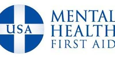 March 1, 2019 -Mental Health First Aid - ***** Curriculum