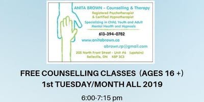Free Counselling Classes