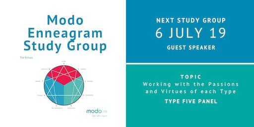 Enneagram Study Group - July 2019