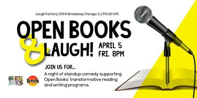Open Books & Laugh: A Standup Comedy Show For Literacy