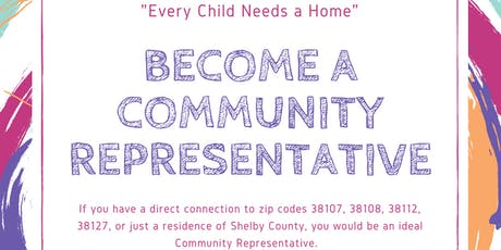 Community Representative Training  tickets