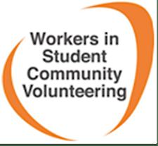 WiSCV (Workers in Student Community Volunteering)  logo