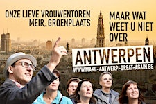 Make Antwerp Great Again - City tours logo