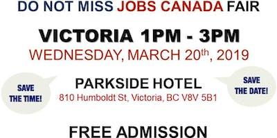 FREE: Victoria Job Fair –  March 20th, 2019