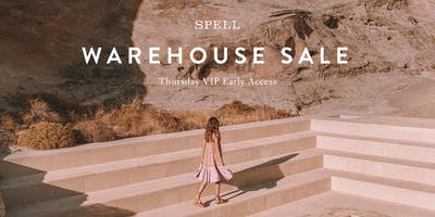 Spell Warehouse Sale | Early Access | One Ticket Per Person