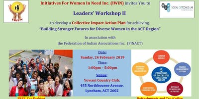 Leaders Workshop II: Building Stronger Futures for Diverse Women in the ACT