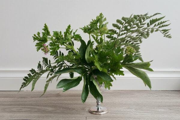 Go Green! Designing with Foliage Class