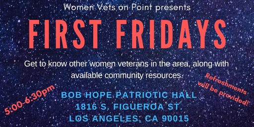 First Fridays with Women Vets on Point