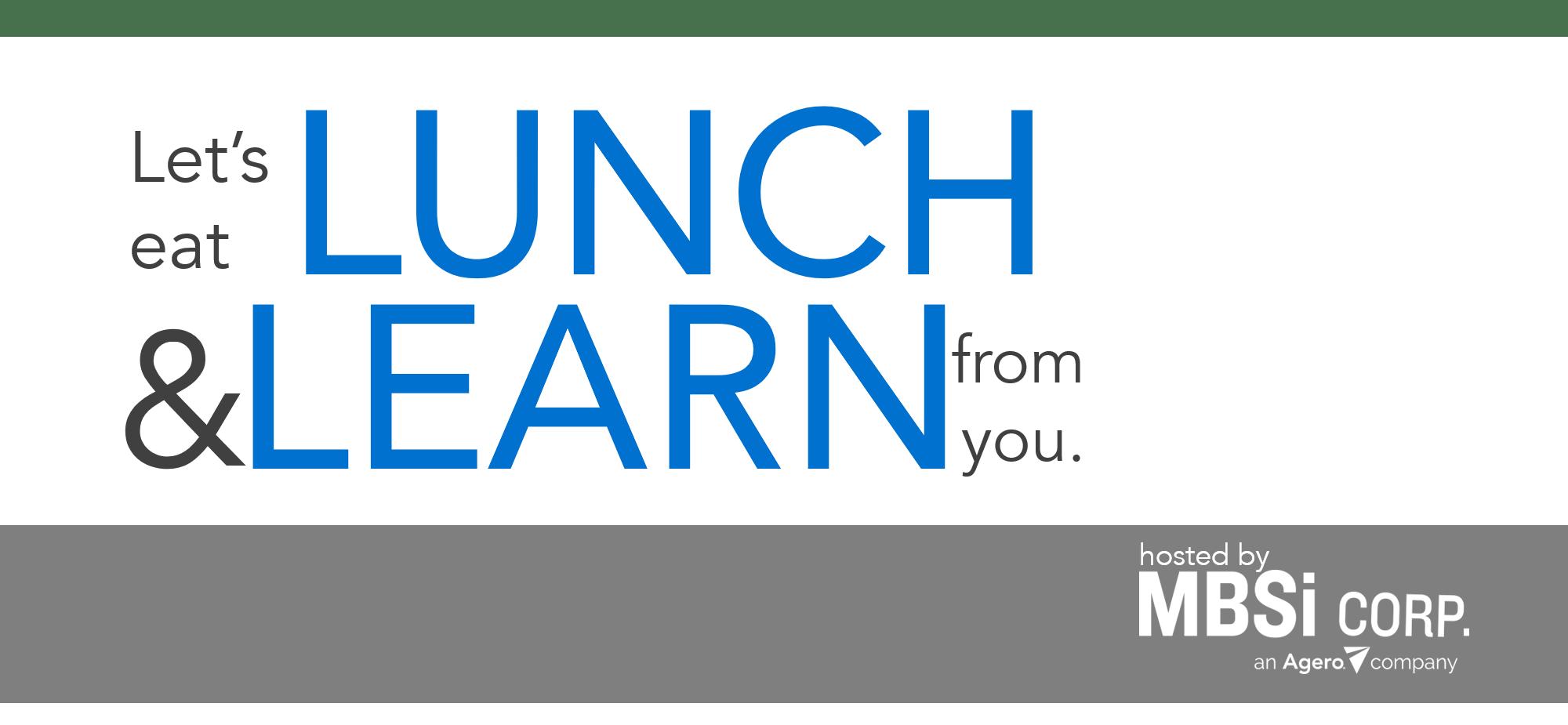 MBSi's Phoenix Lunch & Learn