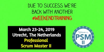 Professional Scrum Master II #weekendtraining