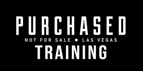 Purchased Advanced Training: July 27, 2019 tickets
