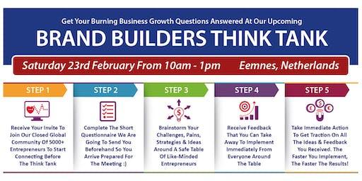 Brand Builders Thinkubator - De Witte Bergen, Netherlands - 6:30pm - 9:30pm*