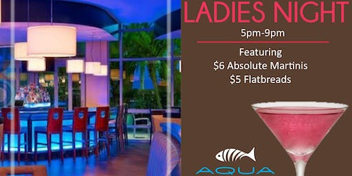 Ladies Night at AQUA