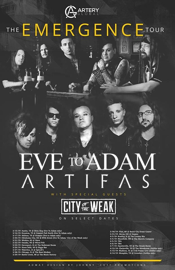 Eve to Adam, Artifas, and City of the Weak image