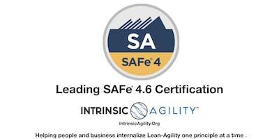 Leading SAFe 4.6  |  SAFe Agilist (SA) Certificati