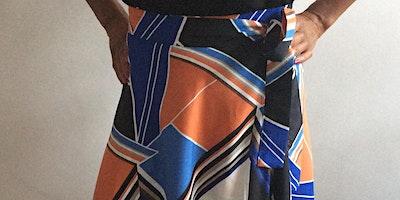 Intermediate sewing class (wrap around half circle skirt) (discount stitch25)